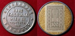 World Coins - Austrian encased postage - Hans Kodrnja