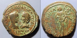 Ancient Coins - Gordian III & Tranquillina, 238-244 AD, Thrace, Anchialos, AE