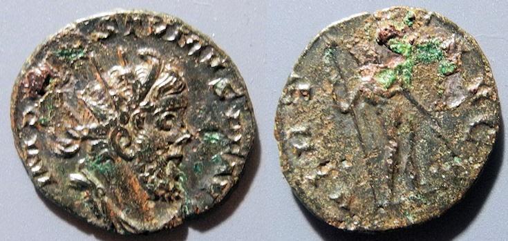 Ancient Coins - Postumus, 259-268 AD, AR antoninianus