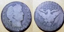 Us Coins - USA - Barber quarter, 1915-P .........AG