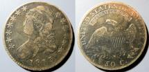 Us Coins - USA Capped Bust half dollar - 1813 - Fine