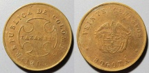World Coins - Leper colony coin - 20 centavos, Bogota, Colombia - interesting!!