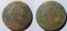 Us Coins - 1800 Large Cent - Poor condition - date legible