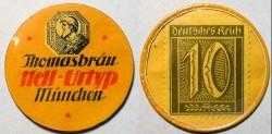 World Coins - German encased postage - Thomasbrau, Hell-Urtyp, Munchen