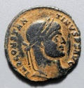 Ancient Coins - CONSTANTINE I - VO / TIS / XX WITHIN CONSTANTINI AVG, ARLES MINT