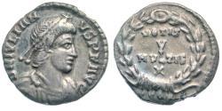 Ancient Coins - Julian II, 360-363 AD, AR siliqua - VOTIS / V / MVLTIS / X on reverse