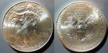 Us Coins - USA Silver Eagle, 2014 - Brilliant uncirculated