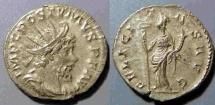 Ancient Coins - Postumus, AR antoninianus, 259-268 AD - Felicitas reverse