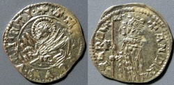 World Coins - Venice, 1368-1382 AD, AR soldino, Andrea Contarini - very attractive!!