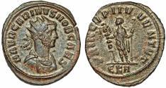 Ancient Coins - Carinus, as Caesar, silver AE antoninianus, 282-283 AD, PRINCIPI IVVENTVT