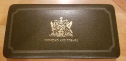 World Coins - 1974 Trinidad and Tobago proof set - very attractive!