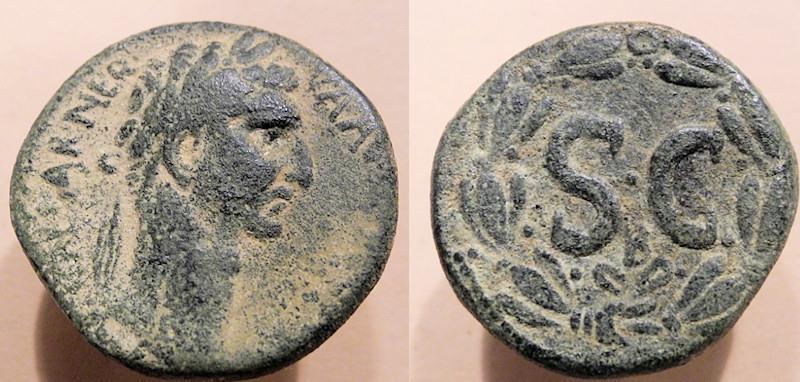 Ancient Coins - Nerva, 96-98 AD, AE26, Syria, Seleucis and Pieria, Antioch ad Orontem - SC in wreath