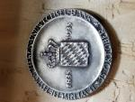 World Coins - 1935 German silver medal 100 year celebration, Bavaria