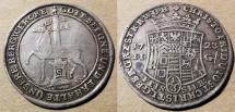 World Coins - 1723 Stolberg, German States - 1/3 Thaler