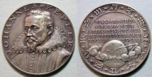 World Coins - 1930 silver Goetz medal, 300th anniversary of death of Johannes Kepler