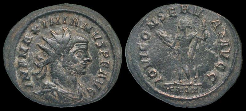 Ancient Coins - Maximianus, 286-310 AD, AE antoninianus - Jupiter