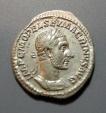 Ancient Coins - Macrinus, 217-218 AD, AR denarius - VOTA PVBLICA reverse