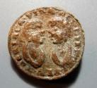 World Coins - Venice, Italy, 17th century, lead theriac capsule lid - Due Mori Pharmacy