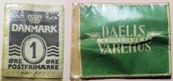 World Coins - Denmark, encased postage - 1 Ore - advertising Daelis Varehus