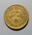 Us Coins - Civil War Token, store card, New York - Oliver Boutwell