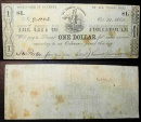 City of Portsmouth, Ohio - October 29, 1862 - Civil War currency