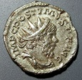 Ancient Coins - Postumus, 259-268 AD, AR antoninianus - MONETA AVG reverse
