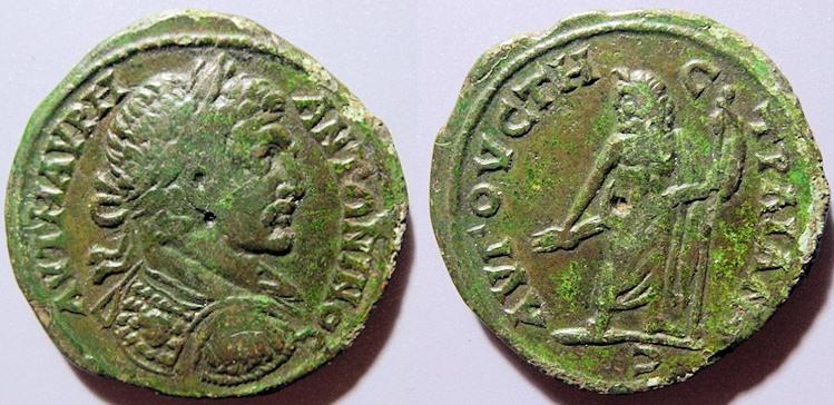 Ancient Coins - Thrace, Augusta, Traiana, Caracalla, 198-217 AD - AE31