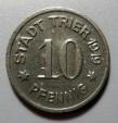 World Coins - German notgeld - 1919, Trier, 10 pfennig - XF or better