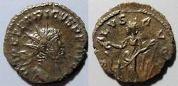 Ancient Coins - Tetricus I, 270-273 AD, AE antoninianus, Salus reverse. higher grade