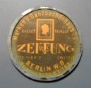 World Coins - German encased postage - 25 pfennig - Berlin Zeitung
