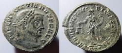 Ancient Coins - Diocletian, 286-305 AD, AE follis, SACRA MONET reverse