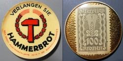 World Coins - Austrian encased postage - Hammerbrot - 100 kronen