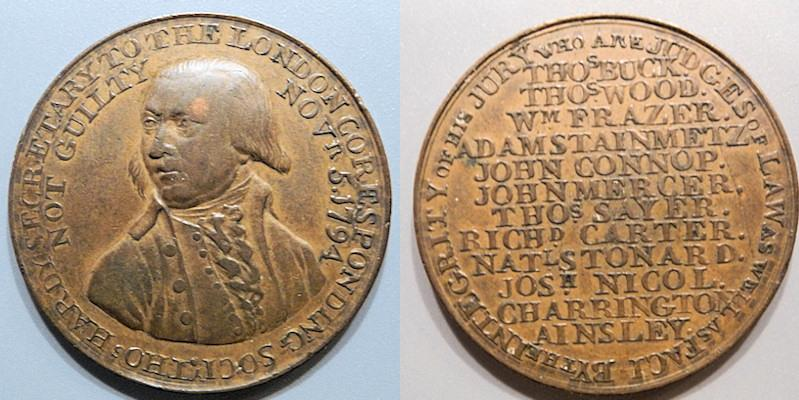 World Coins - Conder token - Middlesex, 1794 Political & Social Series Penny Token