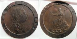 World Coins - 1797 British 2 Pence, Soho - NGC XF details - attractive!