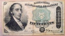 Us Coins - Fractional Currency - 50 cents