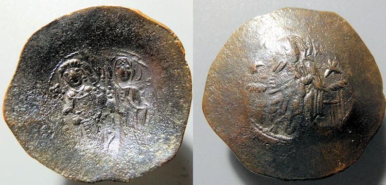 Ancient Coins - Manuel I Comnenus, 1143-1180 AD, Aspron trachy - superb reverse!!