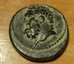 Ancient Coins - Roman Provincial AE, Lydia, Sardis, 2nd-3rd century AD, Hercules