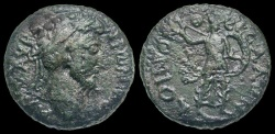 Ancient Coins - Thessalian League, AE, Marcus Aurelius, 161-180 AD - Athena