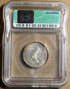 US Coins - US Commem quarter - 1893 Isabella - ICG MS60 details - attractive!