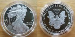 Us Coins - 2014 Proof American silver eagle. Original government packaging.