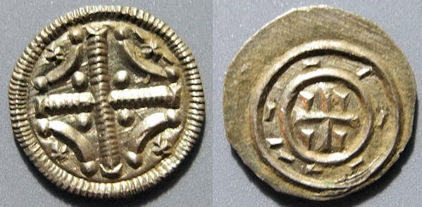 World Coins - Hungary, House of Arpad house - Istvan II, 1116-1131 AD, AR denar (Stephen II)