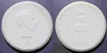 World Coins - German white porcelain medal - Heimatmuseum - 1924 - rare