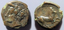 Sicily, Syracuse, Hieron II, 274-216 BC - Apollo / horse