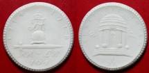 World Coins - German white porcelain medal, Chemnitz, 104th Regiment