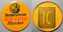 World Coins - German encased postage, Munich, Thomasbrau Hell-Urtyp