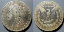 Us Coins - USA - Morgan Dollarl - somewhat scarce, 1878-CC