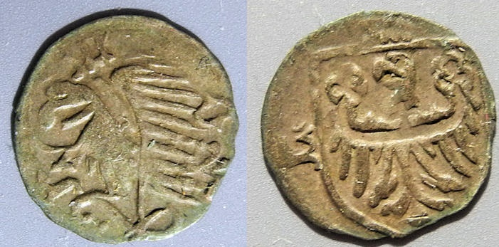 World Coins - German states, Olesnica, Ols (or Oels) - AR heller, anonymous