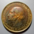 World Coins - Westphalia, German metal notgeld coin, 500 Marks, 1922