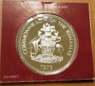 World Coins - 1975 Bahamas 10 Dollars Sterling Silver Proof in Original Case, Packaging, and COA
