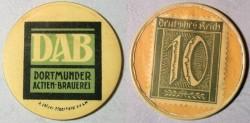 World Coins - German encased postage - DAB - Dortmunder Actien Brauerie
